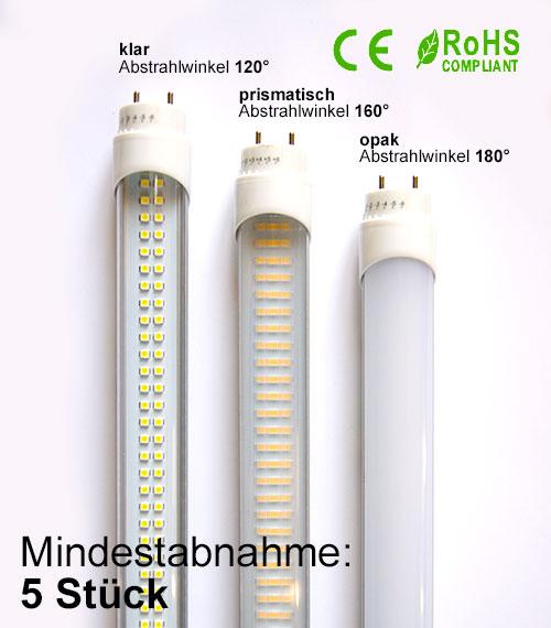 LED Röhren, LED T8 Röhren, LED Leuchtstoffröhren