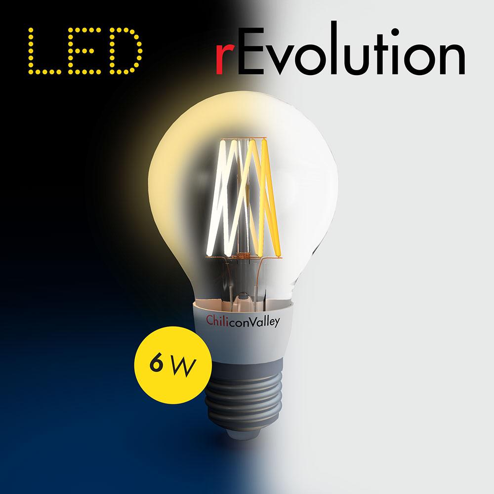 LED Glühbirne rEvolution 60 von ChiliconValley